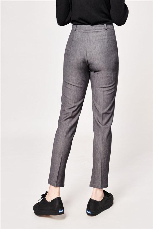高級灰西裝長褲